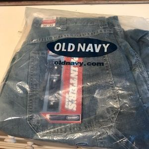 New Men's Old Navy Painters Jeans